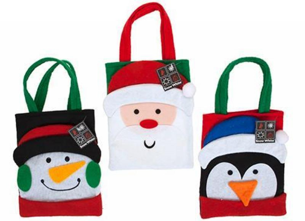 Felt Christmas Character Bags (choose your character)